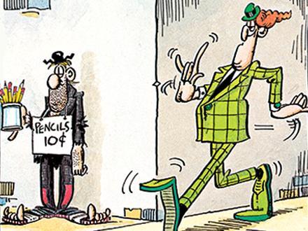 Image result for don martin cartoon walking