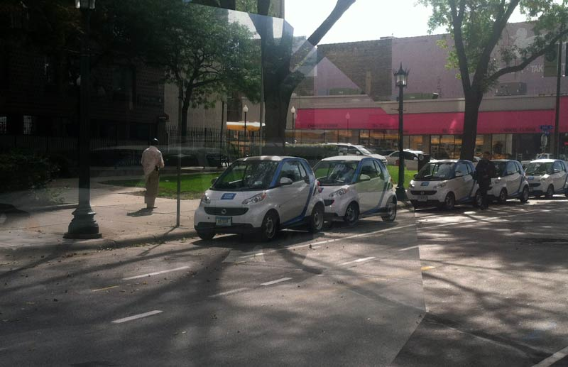 twin city sidewalks: Don't Over-React to Saint Paul's car2go