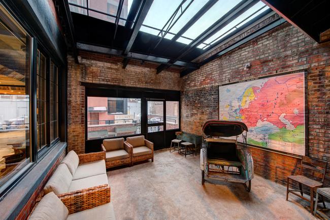 Estilo rustico hotel factory en estilo loft rustico for Loft rustico