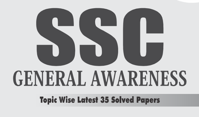 SSC Disha Publications General Awareness 35 Solved Paper PDF Download