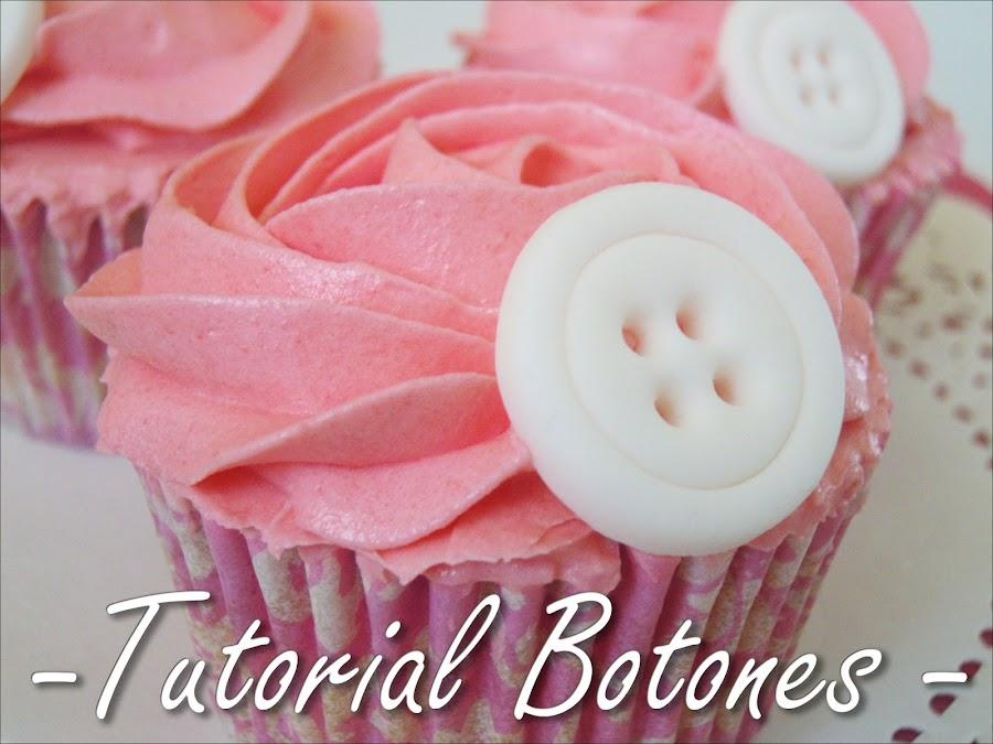 Cupcakes de Chicle (Tutorial Botones)