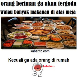 Gambar Kata Humor Lucu Pada Bulan Puasa Ramadhan