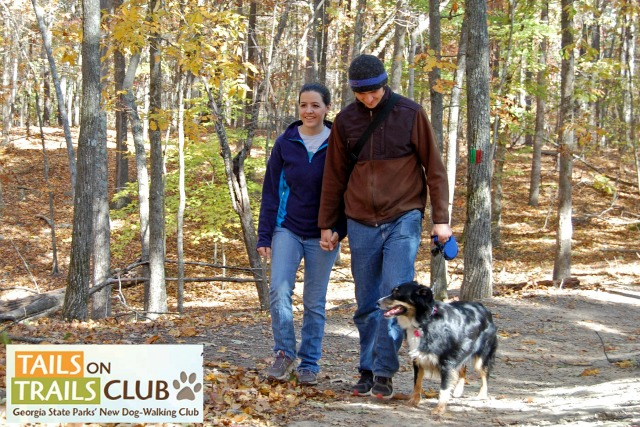 Georgia State Parks Tails on Trails dog-walking club starts June 2016
