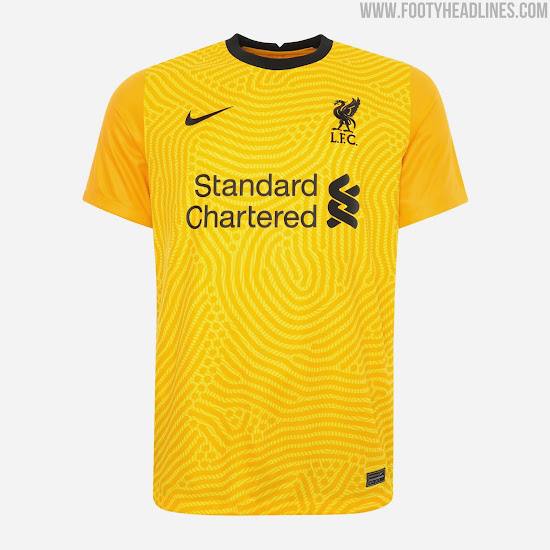 Nike Liverpool 20 21 Goalkeeper Home Away Third Kits Revealed Footy Headlines