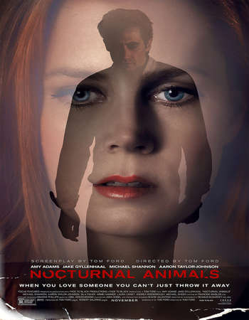 Poster Of Nocturnal Animals 2016 English 500MB BluRay 720p ESubs HEVC Free Download Watch Online downloadhub.in