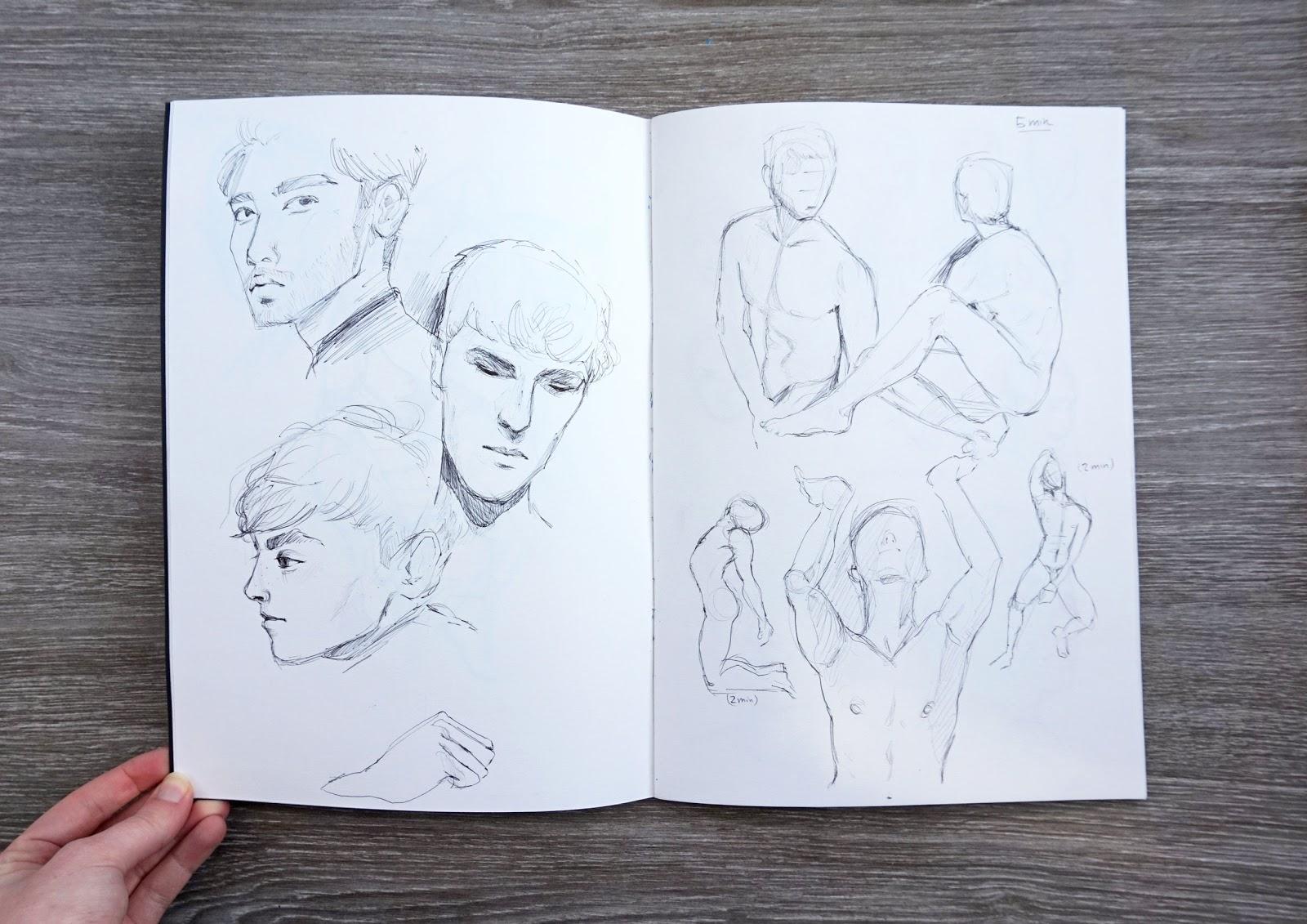 Papieraugen Zeichenblog – Skizzenbuch-Liebe & Kreativität