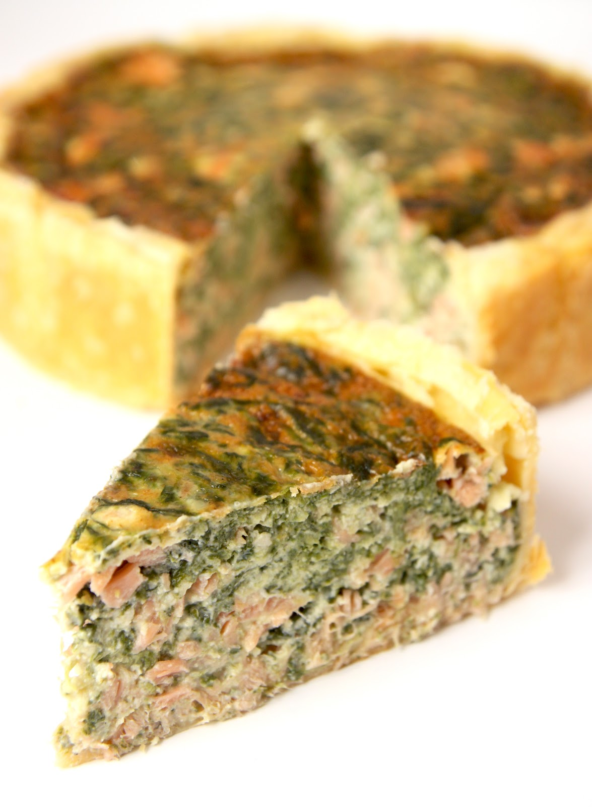 La cuisine de bernard quiche pinards et saumon fum for Cuisine de quiches originales et gourmandes