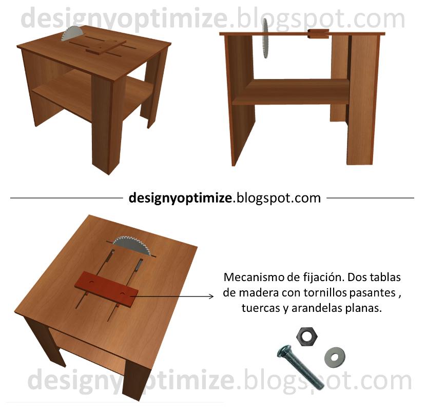dise o de muebles madera mesa para sierra circular mesa