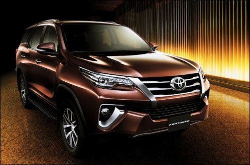 2019 Toyota Fortuner Concept