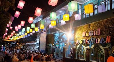 17 Keunikan Masjid Jogokaryan Yogyakarta