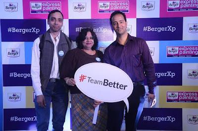 saurabhchawla, Dipali Sharma, Shwetabh Mathur Indiblogger Berger Meet Taj Vivanta