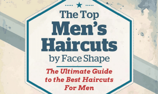 Best Haircuts For Men By Face Shape Infographic Visualistan