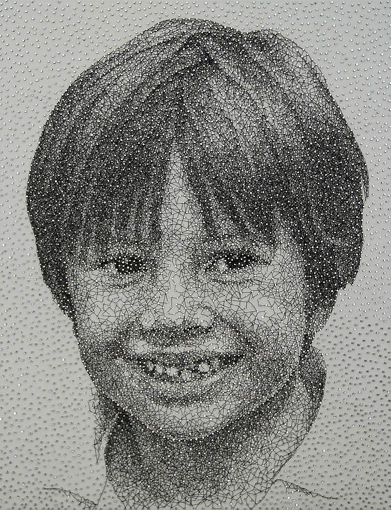 thread portraits
