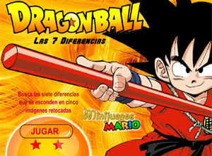 Dragon Ball Las 7 Diferencias