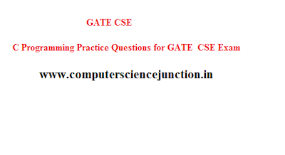 C Programming for gate cse