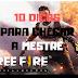 Free Fire: 10 Dicas Para Chegar a Mestre