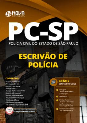 Apostila Concurso PC SP 2020 Escrivão de Polícia Grátis Cursos Online