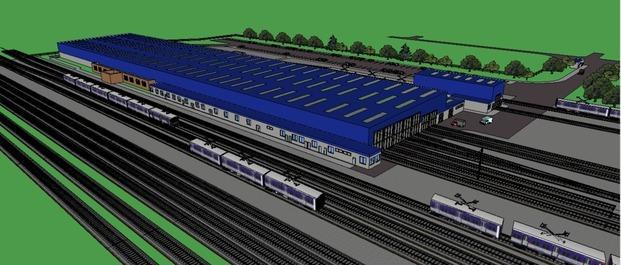 Resultado de imagen para Inaugura Taller ferroviario en Tolosa
