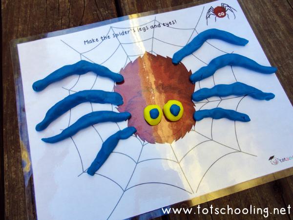 Fall Playdough Mats  Other Fall Activities Totschooling - Toddler