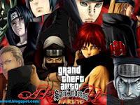 Download GTA San Andreas Modpack Naruto Apk by Lutfi (Final V)