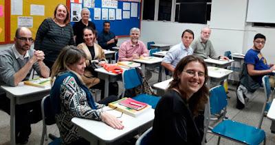 Hebraico está em alta no Colégio Liessin