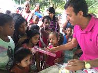 SAJ: Vereador Altemir Policial Distribui brinquedos em escolas da zona rural