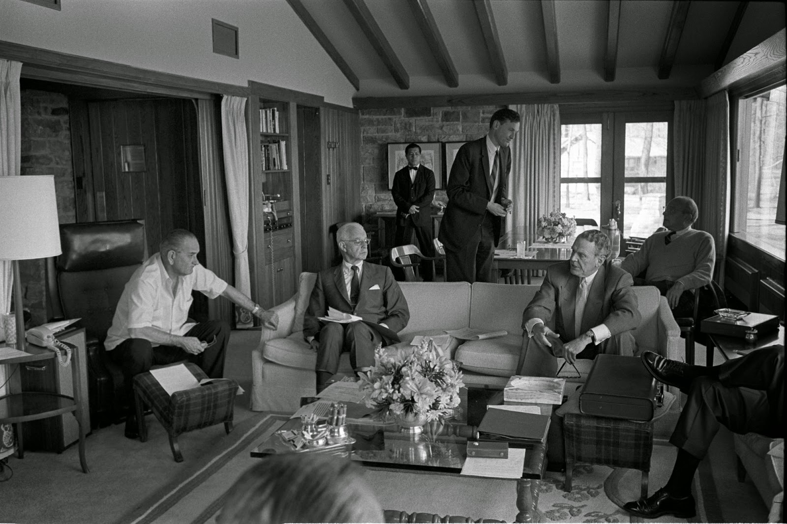 Gerald Jones Ford >> About Camp David: Photos from the LBJ Library