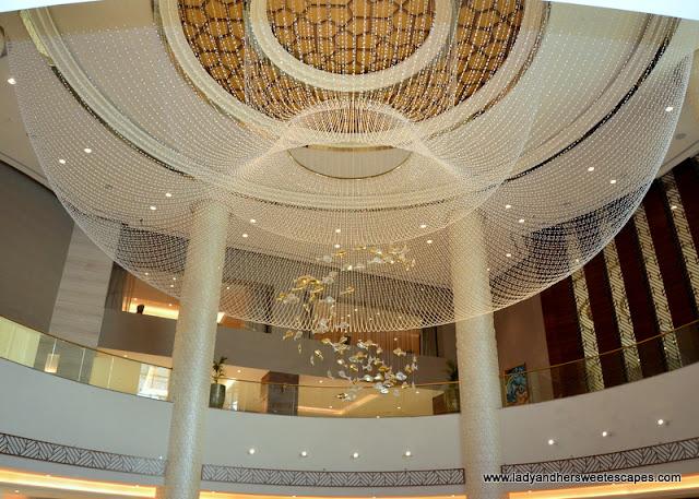 Fairmont Ajman hotel lobby