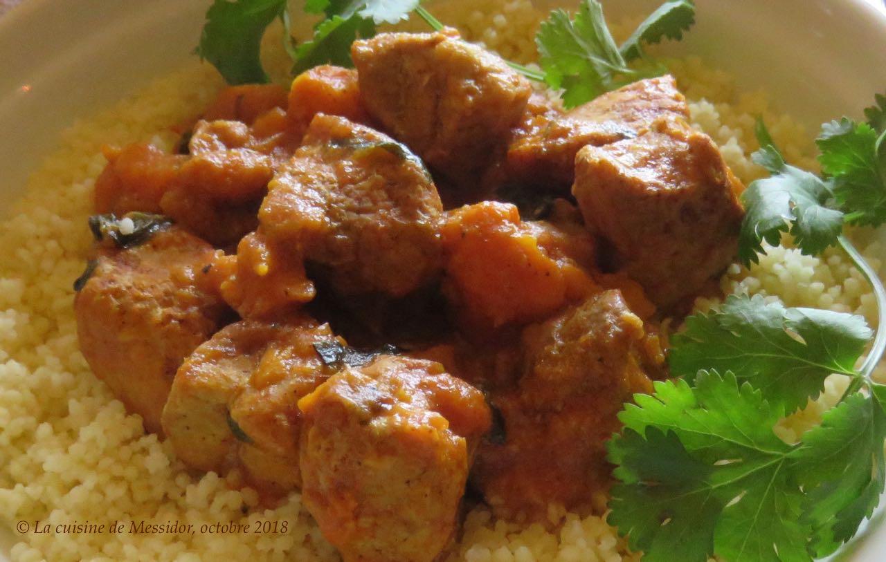 la cuisine de messidor  rago u00fbt de porc  u00e9pic u00e9 au lait de coco