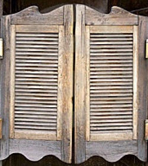 Le reflet de la lune portes battantes for Porte western castorama