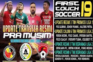 Download FTS Mod Tim Promosi Liga 1 Full Update Transfer by MZ Mamet