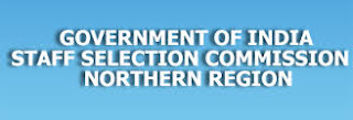 Staff Selection Commission Northern Region Recruitment 2016