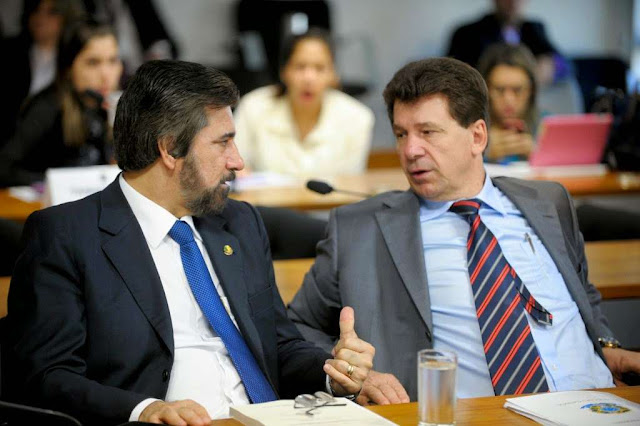 Delação de Funaro pode acabar com carreira política de Raupp e Cassol