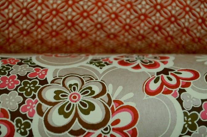 une semaine avec des dominantes de rouges papiers japonais mon univers papier. Black Bedroom Furniture Sets. Home Design Ideas