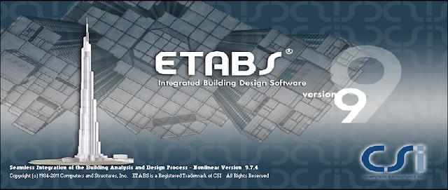 Download ETABS 9.7.4 Full Version