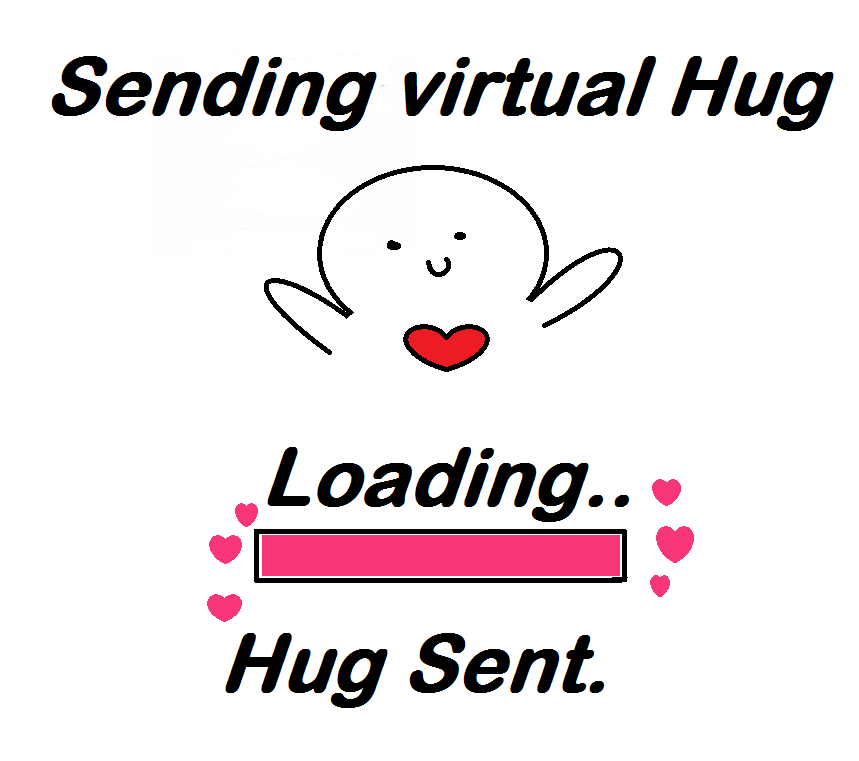 how to make hugs on facebook