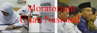 Moratorium Ujian Nasional
