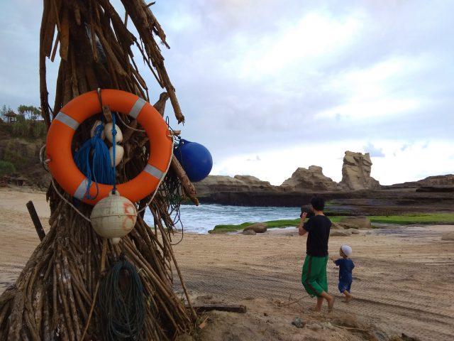 fasilitas di pantai klayar