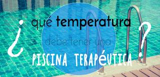 ¿A qué temperatura debe estar el agua de la piscina?