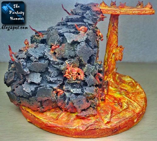 Diorama Lava Base WiP4