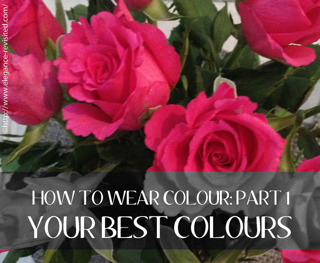 How to wear colour: part 1/3 | Elegance Revisited