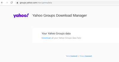 Yahoo Groups Download Manager