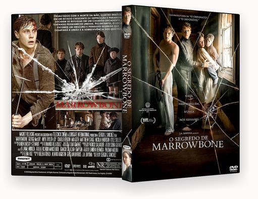 CAPA DVD – O Segredo De Marrowbone DVD-R