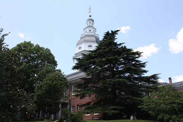 Maryland's State House is the oldest state house still holding legislative sessions