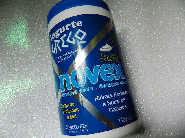Novex Iogurte Grego Lançamento