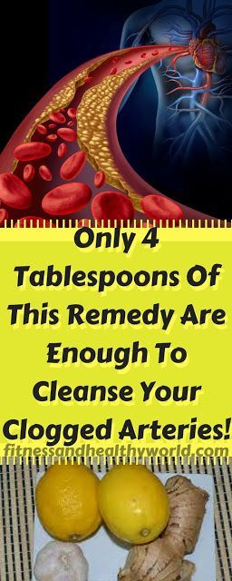 A SCANDAL IN CLINICS AND HOSPITALS! THIS IS WHAT THEY WANT TO HIDE: ONLY 4 TABLESPOONS OF THIS REMEDY ARE ENOUGH TO CLEANSE YOUR CLOGGED ARTERIES!