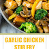 Garlic Chicken Stir Fry Recipe