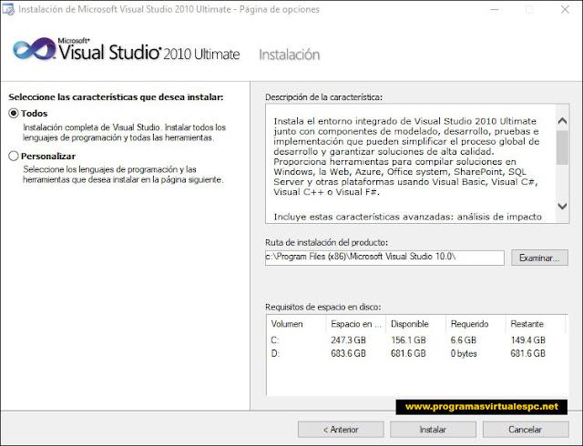 Visual Studio 2010 Ultimate + (Serial) Full Español [Mega]