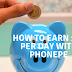 How to earn 100 per day in india with Phonepe