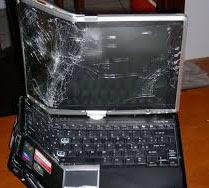 Hardware laptop, apa yang terjadi jika laptop jatuh